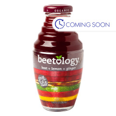 BEETOLOGY - ORG JUICE - BEET& LEMON & GINGER - 8.45OZ