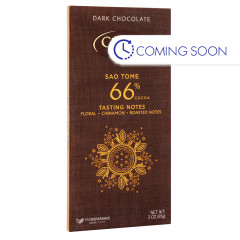 CEMOI DARK CHOCOLATE 66% COCOA SAO TOME 3 OZ BAR