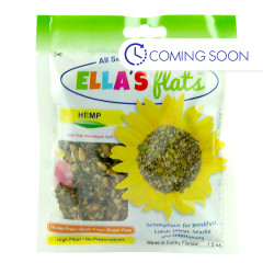 ELLA'S FLATS HEMP SNACK PACK 1.5 OZ PEG BAG