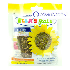 ELLA'S FLATS ORIGINAL SESAME SNACK PACK 1.5 OZ PEG BAG *FL DC ONLY*