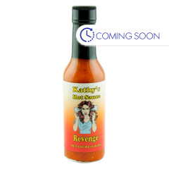KATHY'S REVENGE HOT SAUCE 5 OZ BOTTLE