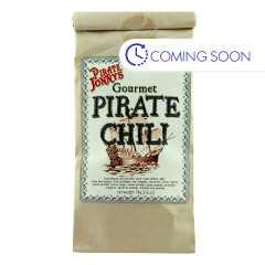PIRATE JONNY'S PIRATE CHILI SEASONIN 2.6 OZ BAG
