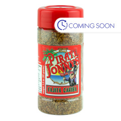 PIRATE JONNY'S FAJITA CARIBA SEASONING 3 OZ SHAKER