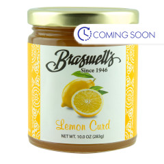 BRASWELLS LEMON CURD 10 OZ JAR *FL DC ONLY*