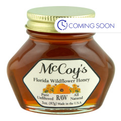 MCCOY'S - HONEY - WILDFLOWER - 3OZ
