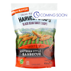 CALBEE BBQ SOUTHERN STYLE HARVEST SNAPS 10 OZ POUCH