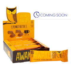 AWAKE BAR PEANUT BUTTER CHOCOLATE 1.16 OZ