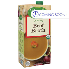 PACIFIC ORGANIC BEEF BROTH 32 OZ