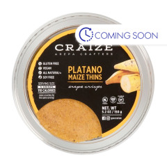 CRAIZE PLATANO MAIZE THINS 5.2 OZ