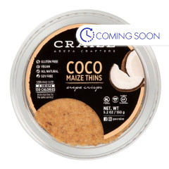 CRAIZE COCO MAIZE THINS 5.2 OZ TUB