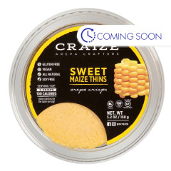 CRAIZE SWEET MAIZE THINS 5.2 OZ TUB
