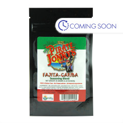 PIRATE JONNY'S FAJITA CARIBA SEASONING 1.4OZ