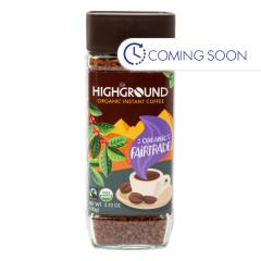 HIGHGROUND - INSTANT COFFEE REGULAR - 3.53OZ