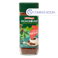 HIGHGROUND - INSTANT COFFEE DECAF - 3.53OZ