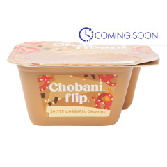 CHOBANI SALTED CARAMEL CRUNCH FLIP YOGURT 5.3 OZ