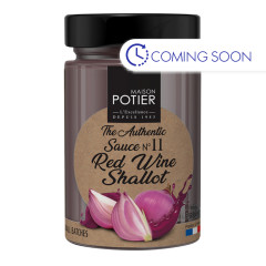 CHRISTIAN POTIER RED WINE SHALLOT SAUCE 6.3 OZ