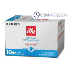ILLY COFFEE DECAF KCUPS (10CT) 4.1 OZ
