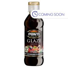 PONTI BALSAMIC GLAZE 8.82 OZ BOTTLE