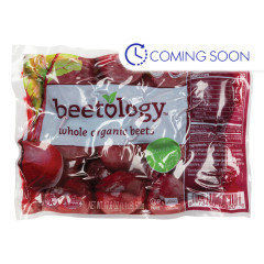 BEETOLOGY ORGANIC WHOLE RED BEETS 17.6 OZ