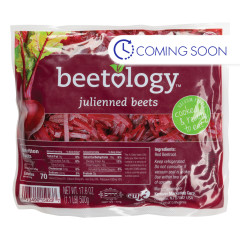 BEETOLOGY RED BEETS JULIENNE CUT 17.6 OZ