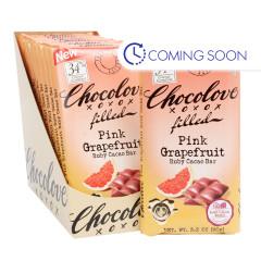 CHOCOLOVE PINK GRAPEFRUIT RUBY 3.2 OZ BAR