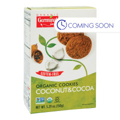 GERMINAL - ORG - GLUTEN FREE - COOKIES - COCO & COCONUT - 5.29OZ