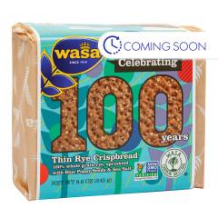 WASA - -CRISPBREAD - THIN RYE - 8.6OZ