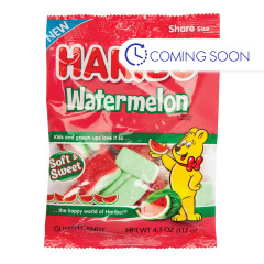 HARIBO WATERMELON 4.1 OZ PEG BAG