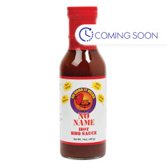 NO NAME HOT BBQ SAUCE 14 OZ BOTTLE