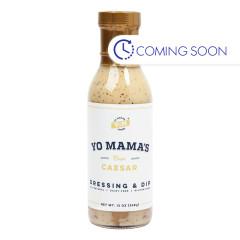 YO MAMA'S CLASSIC CAESAR DRESSING & MARINADE 13 OZ BOTTLE