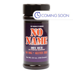 NO NAME DRY RUB 6.5 OZ