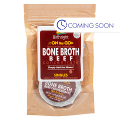 BIRTHRIGHT BEEF BONE BROTH CONCENTRATE 2 OZ POUCH