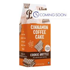 BROOKLYN BITES CINNAMON COFFEE CAKE COOKIE BRITTLE 6 OZ POUCH