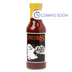 POCA'S HOTTEST FAT NIGHT SMOKED APPLE BBQ SAUCE 12 OZ BOTTLE