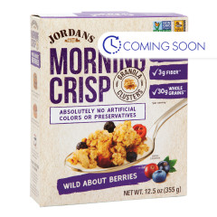 JORDANS ORGANIC WILD ABOUT BERRIES MORNING CRISP 12.5 OZ BOX
