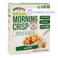 JORDANS ORGANIC ORIGINAL MORNING CRISP 12.5 OZ BOX