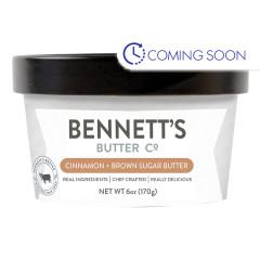 BENNETT'S BUTTER CINNAMON & BROWN SUGAR 6 OZ