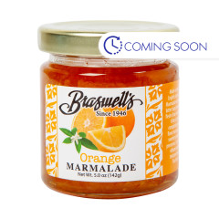 BRASWELLS MINI ORANGE MARMALADE PRESERVES 5 OZ JAR