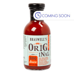BRASWELLS ORIGINAL BBQ SAUCE 13.5 OZ BOTTLE