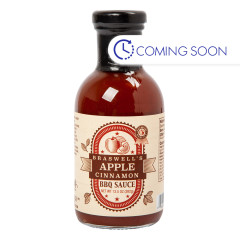 BRASWELLS APPLE CINNAMON BBQ SAUCE 13.5 OZ BOTTLE