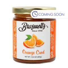 BRASWELLS ORANGE CURD 10 OZ JAR