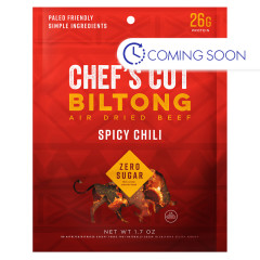 CHEF'S CUT SPICY CHILI BILTONG BEEF JERKY 1.7 OZ POUCH