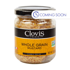 CLOVIS WHOLE GRAIN MUSTARD 7 OZ JAR