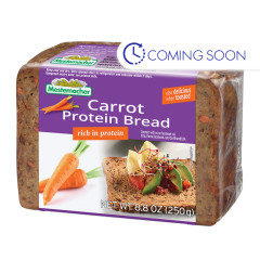 MESTEMACHER CARROT PROTEIN BREAD 8.8 OZ