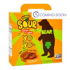 BEAR SOUR MANGO REAL FRUIT YOYOS (5 CT) 3.5 OZ BOX