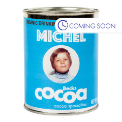 BECK'S COCOA ORGANIC MICHEL MILK CHOCOLATE POWDER 8.8 OZ CAN