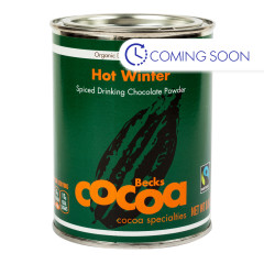 BECK'S COCOA ORGANIC HOT WNTER SPICED CHOCOLATE POWDER 8.8 OZ CAN