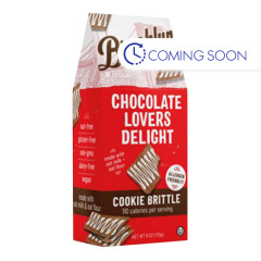 BROOKLYN BITES CHOCOLATE LOVERS DELIGHT COOKIE BRITTLE 6 OZ POUCH