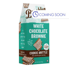 BROOKLYN BITES WHITE CHOCOLATE BROWNIE COOKIE BRTTLE 6 OZ POUCH