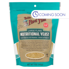 BOB'S RED NUTRITIONAL YEAST LARGE FLAKES 5 OZ POUCH